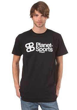PLANET SPORTS Corporate Logo S/S Slimfit T-Shirt black/white