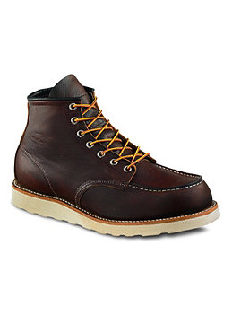 RED WING Moc Toe briar oil slick