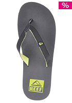 REEF Slim Smoothy Sandals grey/green