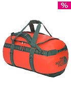 Base Camp Duffel Bag Medium spicy orange/dark sage green